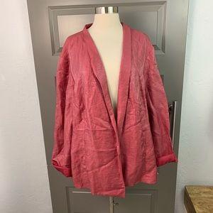 Eileen Fisher Organic Linen Blend Blazer